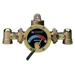 LEONARD VALVE TMS-150-CP Steam and Water Mixing Valve,Brass