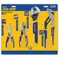 IRWIN Tools Long Nose, Slip Joint, Adjustable Wrench and Groove Joint ProPliers Set, 4-Piece (2078705), Professional-grade tools By Irwin-Tools