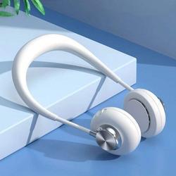 Kooyet Portable Neck Fan,Charging Fan Neck,Neck Air Fans, Personal Fan Mister Neck, ,Hands Free Bladeless Fan, 360 ° Rotating, USB Powered Desk Fan, 3 Speeds, for Running, Camping, Outdoor ,Indoor