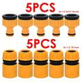 3/4& 1/2 Garden Hose Water Pipe Quick Connector Tube Fitting Tap Adapter Tools