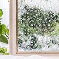 Privacy Window Film Opaque Non-Adhesive Frosted Bird Window Film Decorative Glass Film Static Cling Film Bird Window Stickers for Home Office 17.7In by 78.7In (45 x 200cm)