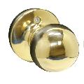 Pamex Southgate Half-Dummy Door Knob Trim in Polished Brass