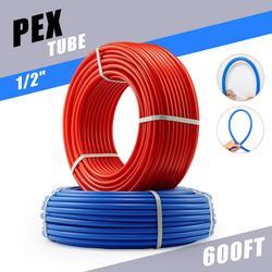 1/2 in. PEX Pipes 2x300ft Tubing PEX-B Plumbing Tubes for Radiant Floor Heating