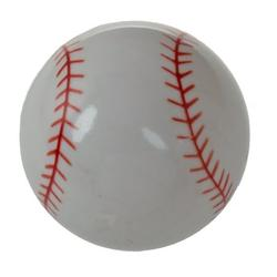 GlideRite 1-1/4 in. Baseball Sports Dresser Drawer Cabinet Knobs, Pack of 25