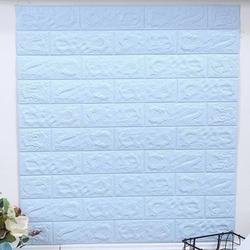 Left Wind 3D Faux Brick Wall Stickers Self-adhesive Waterproof Wallpaper Art Wall Panels