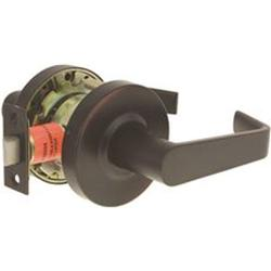 Us Lock E2050 Passage Endurance Flat Lever 2-3/4'' Oil Rb Brnz