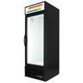 "True GDM-23F-HC~TSL01 27"" One-Section Display Freezer w/ Right Hinge Swinging Door, Black, 115v"