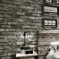 32.8*1.7Ft Stone Wallpaper Faux Textured Stone Wallpaper Look 3D Effect Blocks Peel and Stick Wallpaper Self Adhesive Removable Wall Decor Livingroom Kitchen Home Background