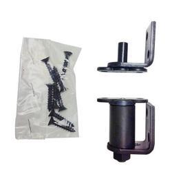 Bommer 7512 Oil Rubbed Bronze/ Stain Chrome / Satin Brass Gravity Pivot Hinge for Louver / Swing / Swinging / Cafe Doors (Oil Rubbed Bronze)