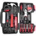 38 Piece Tool Box, Portable Tool Case Versatile Tool Case for Daily Repairs
