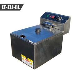 Cooler Depot 30000 BTU 100 W Commercial Gas Fryers, Size 13.0 H x 10.0 W x 17.0 D in | Wayfair ET-ZL1-8L