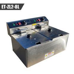 Cooler Depot NSF 8L Electric Deep Fryer, Size 13.0 H x 22.0 W x 17.0 D in   Wayfair ET-ZL2-8L