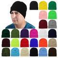 Falari Men Women Knitted Beanie Hat Ski Cap Plain Solid Color Warm Great for Winter
