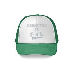 Awkward Styles Gifts for Dad Promoted To Daddy Trucker Hat New Dad Hat Funny Dad Gifts for Father's Day Baby Daddy Cap First Father's Day Pregnancy Announcement Dad 2018 Trucker Hat Daddy Snapback Hat