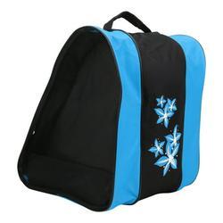 Mgaxyff Ice Skates Packsack,Roller Skate Packsack,3 Layers Nylon Roller Skate Backpack Single‑shoulder Bag Leisure Sports Packsack