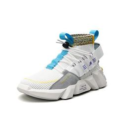 Wazshop Mens Fashion Sneakers High Top Walking Shoes Sport Athletic Casual Shoe Vogue Stylish