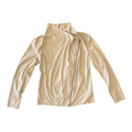 Mote Women's Lightweight Soft Faux Suede Zip Up Drape Jacket (Khaki, M)