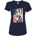 Freedom Marilyn Monroe Sexy Tattoos American Flag Music Americana / American Pride, patriotic Shirt, American Shirt, Patriotic Shirt, fourth of july shirt, American Flag, USA Womens Graphic T-Shirt