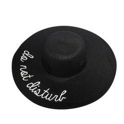 Mchoice New Sun Hat Summer Big Straw Hat Floppy Wide Hats Fedora Hat Bowknot Folding Beach Hat for Women