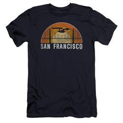 Star Trek - San Francisco Trek - Premium Slim Fit Short Sleeve Shirt - Large
