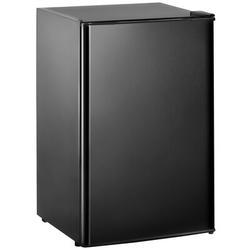 Simplie Fun Compact Refrigerator w/ Freezer, Energy Star 3.2 Cu.Ft Mini Fridge w/ Reversible Door, 5 Settings Temperature Adjustable For Kitchen