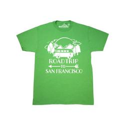 Inktastic Road Trip To San Francisco Adult T-Shirt Male Kelly Green S