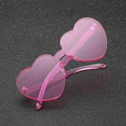 Atralife Sunglasses Women Sunglasses Heart Shaped Cute Sunglasses Resin Lens Uv Protection Eyewear For Beach Travel