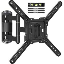 MOUNTUP TV Wall Mounts TV Bracket For Most 26-55 Inches Tvs, Full Motion TV Wall Mount w/ Swivel & Extend 17.7 Inch, TV Mount w/ Swivel Articula