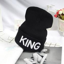 Unisex Lover Hat Winter Warm Beanies Printed Hat Embroidery Cap Gift