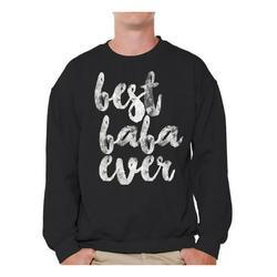 Awkward Styles Baba Gifts Men Crewneck Dads Sweatshirt Cute Crewneck for Dad Best Baba Ever TShirt Father`s Day Crewneck Best Father`s Day Gift Father`s Day Gifts Ideas
