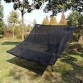 Oriufas Studio Sunblock Shade Cloth Net UV Resistant, Garden Shade Mesh Tarp For Plant Cover, Greenhouse in Black, Size 600.0 W x 240.0 D in Wayfair
