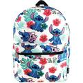 Disney Lilo & Stitch 16 Inch All Over Print Backpack with Laptop Sleeve