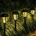 SpicyMedia Solar Path Lights Outdoor, LED Solar Garden Lights Wireless, Waterproof Solar Pathway Lights Outdoor For Patio, Yard, Walkway, Lawn