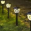 SpicyMedia Solar Pathway Lights Outdoor, LED Solar Garden Lights, Waterproof Solar Landscape Lights For Lawn, Patio, Yard, Garden, Walkway | Wayfair