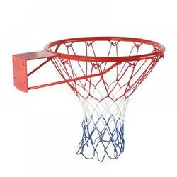 sawpy Basketball Hoop Steel in Gray/Red, Size 1.5 H x 18.0 W x 18.0 D in | Wayfair LK0069-4