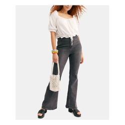FREE PEOPLE Womens Black Jeans Size 25 Waist