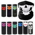 10pcs.Skull Bandana Multifunctional Seamless Headbands Scarf Wrap Headwear for Sports, Headscarves, Headwrap Scarf Neck Gaiter Turban, Face Mask