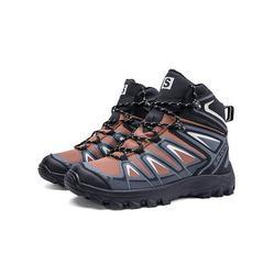 Avamo Men's Waterproof Hiking Boot Casual Shoes Lightweight Non-Slip Trekking Hiking Sneakers Outdoor Backpacking Camping Climbing Shoes