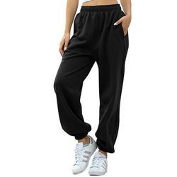 Women Fashion Loose Casual Pure Color Harem Yoga Joggerpant Trousers Harem Women Trousers Pants Cargo Pants Trousers Ladies Camo Hiking Jeans Jogger Sport Loose Casual Trouser Pants