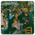 Alcott Hill® Dancing At The Moulin Tabletop Art Drink Coasters Set Of Four Ceramic, Size 1.0 H x 4.25 D in | Wayfair