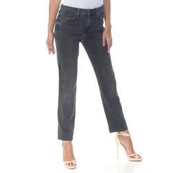 FREE PEOPLE Womens Black Girlfriend Jeans Size: 31 Waist