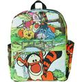 """Tigger 12"""" Deluxe Oversize Print Daypack - A21325"""