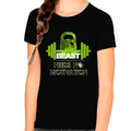 Graphic Tees for GIRLS YOUTH - Motivational Shirts for KIDS - Cool GIRLS Vintage Casual Shirts - Beast