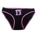 Bad Cat Women Juniors Panty Panties Underwear Intimates Hipster Brief (12, Black Meow)