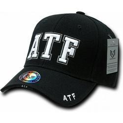 RapDom ATF Deluxe Law Enf. Mens Cap [Black - Adjustable]