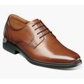 Florsheim Forecast Waterproof Plain Toe Oxford Walking Shoes Cognac 12190-221