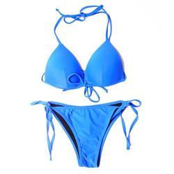 Moonvvin Sexy String Bikini Swimsuit Low Waist Halter Swimwear Women Two Piece Bandage Bikini Set Beach Wear;String Bikini Swimsuit Low Waist Halter Swimwear Women Two Piece Bikini Set