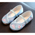 HAWEE Mary Jane Shoes Princess Mulan Shoes Handmade Flat Traditional Chinese Style for Girl & Toddler Girls