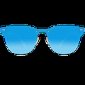 WearMe Pro - Full Mirror Lens Reflective Rimless Trendy Sunglasses