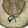 Famure hat Cowboy Hat Summer Wide-brimmed Straw Woven Hat Casual Western Panama Jazz Hat Outdoor Visor Rolled Side Sun Hat Fishing Cap for Men Women